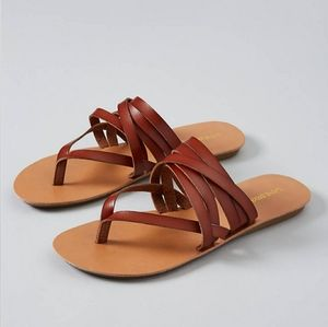 NWT Strappy Sandals